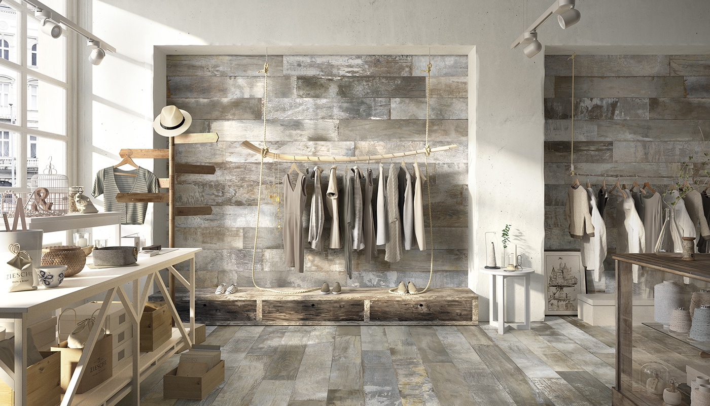 20Twenty commercial gris madera 40